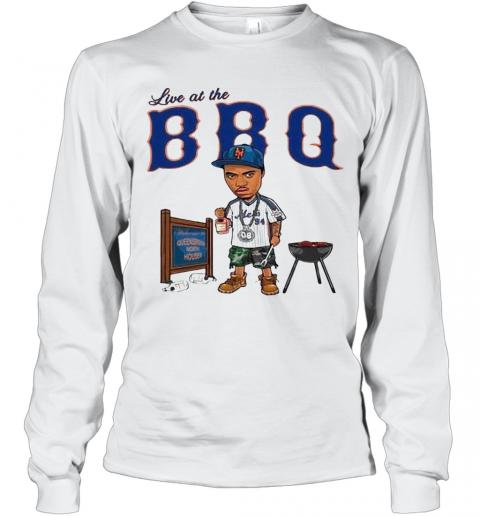 Live At The BBQ T-Shirt Long Sleeved T-shirt