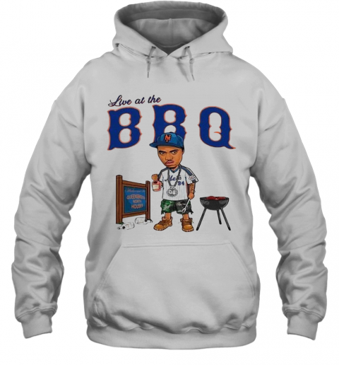 Live At The BBQ T-Shirt Unisex Hoodie
