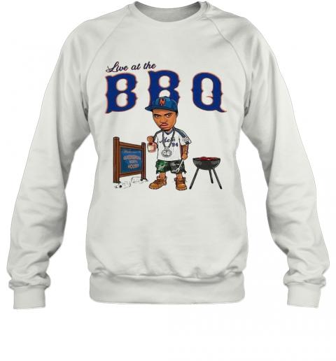 Live At The BBQ T-Shirt Unisex Sweatshirt