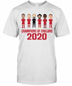 Liverpool Champions Of England 2020 T-Shirt Classic Men's T-shirt