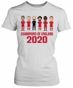 Liverpool Champions Of England 2020 T-Shirt Classic Women's T-shirt