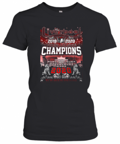 Liverpool FC 2019 2020 Prem League Champions 2020 T-Shirt Classic Women's T-shirt