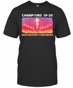 Liverpool Football Club Champions 19 20 Our History Continues T-Shirt Classic Men's T-shirt