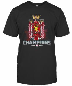 Liverpool Football Club The King Champions T-Shirt Classic Men's T-shirt