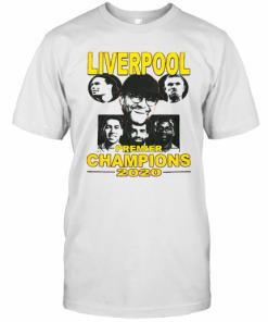 Liverpool Premier League Champions 2020 Players T-Shirt Classic Men's T-shirt