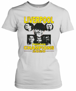 Liverpool Premier League Champions 2020 Players T-Shirt Classic Women's T-shirt
