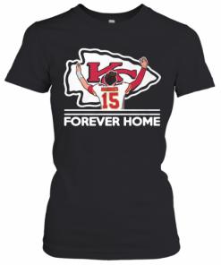 Mahomes Kansas City Chiefs Forever Home T-Shirt Classic Women's T-shirt