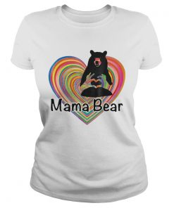 Mama Bear Lgbt Mom Gift  Classic Ladies