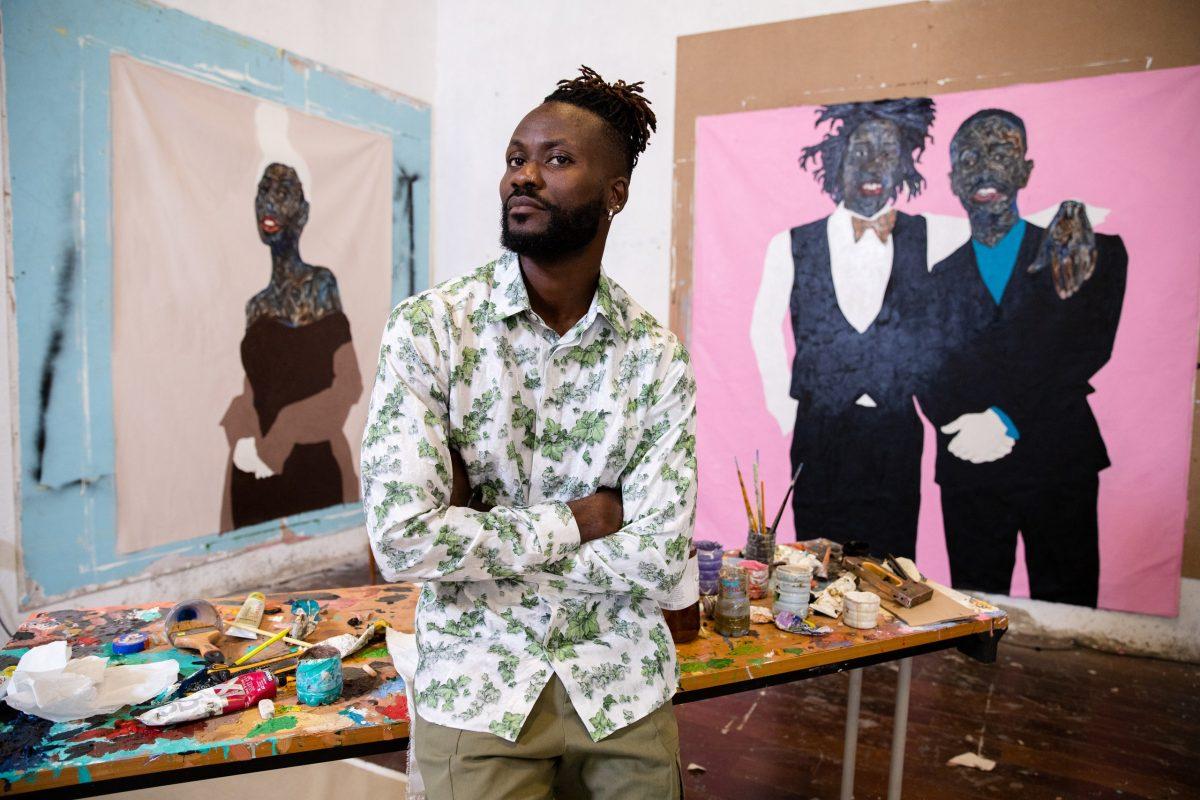 Meet the Ghanaian Painter Behind Kim Jones's Latest Dior Men Collection