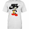 Mickey Mouse Nike Logo T-Shirt Classic Men's T-shirt