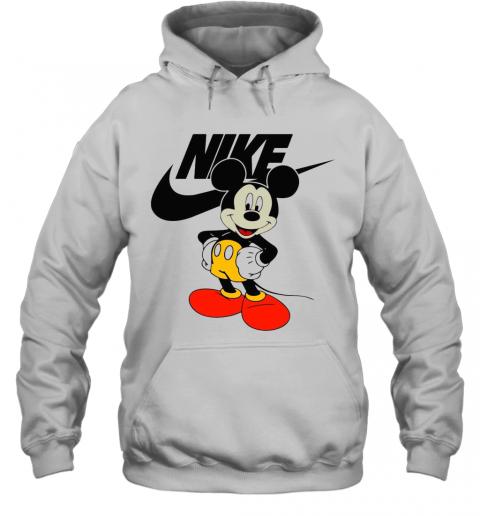 Mickey Mouse Nike Logo T-Shirt Unisex Hoodie