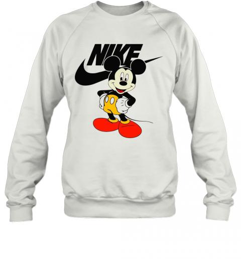 Mickey Mouse Nike Logo T-Shirt Unisex Sweatshirt
