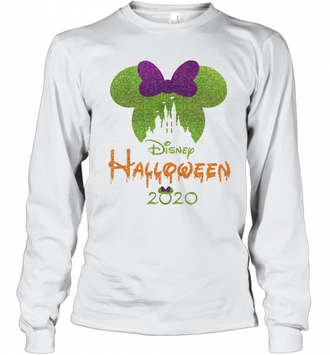 Minnie Mouse Disney Halloween 2020 T-Shirt Long Sleeved T-shirt