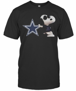 NFL Dallas Cowboys Snoopy T-Shirt Classic Men's T-shirt
