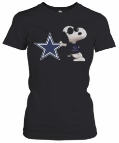 NFL Dallas Cowboys Snoopy T-Shirt Classic Women's T-shirt