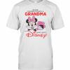 Never Underestimate A Grandma Who Loves Disney T-Shirt Classic Men's T-shirt