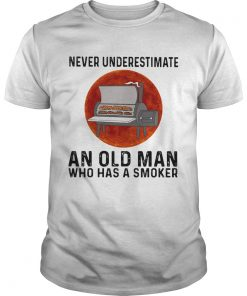 Never underestimate an old man who has a smoker moon blood  Unisex