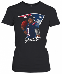 New England Patriots Cam Newton Signature T-Shirt Classic Women's T-shirt