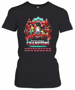Premier League Champions Liverpool Football Club Stars T-Shirt Classic Women's T-shirt