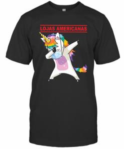 Unicorn Mask Lojas Americanas Logo T-Shirt Classic Men's T-shirt