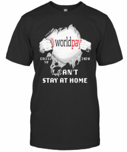 Worldpay I Can'T Stay At Home Covid 19 2020 Superman T-Shirt Classic Men's T-shirt