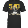 540 Drew Brees Touchdowns Nfl All Time Passing Record Football T-Shirt Classic Men's T-shirt
