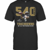 540 Drew Brees Touchdowns Nfl All Time Passing Record Signature T-Shirt Classic Men's T-shirt