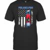 America Flag Philadelphia Teams T-Shirt Classic Men's T-shirt