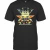 Baby Yoda Hug Rottweiler T-Shirt Classic Men's T-shirt