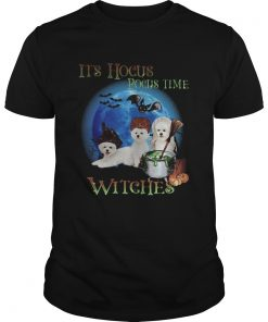 Bichon fries Halloween Its hocus pocus time witches  Unisex