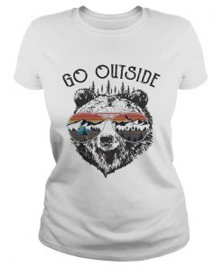 Camping go outside worst case scenario a bear kills you  Classic Ladies