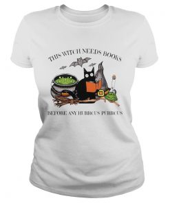 Cat This Witch Needs Books Before Any Hurrcus Purrcus  Classic Ladies