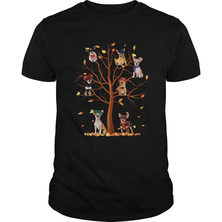 Chihuahua Fall Tree Shirt Masswerks Store