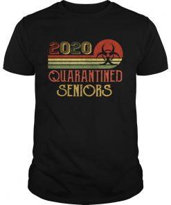 Class Of 2020 Senior Quarantine Graduation Vintage  Unisex