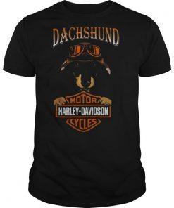 Dachshund Motor Harley Davidson Company shirt