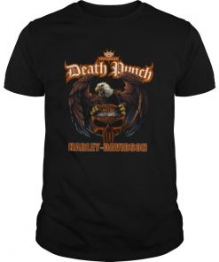 Five Finger Death Punch Harley Davidson shirt