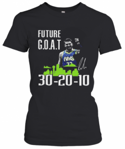 Future Goat Dallas Mavericks Basketball Signature T-Shirt Classic Women's T-shirt