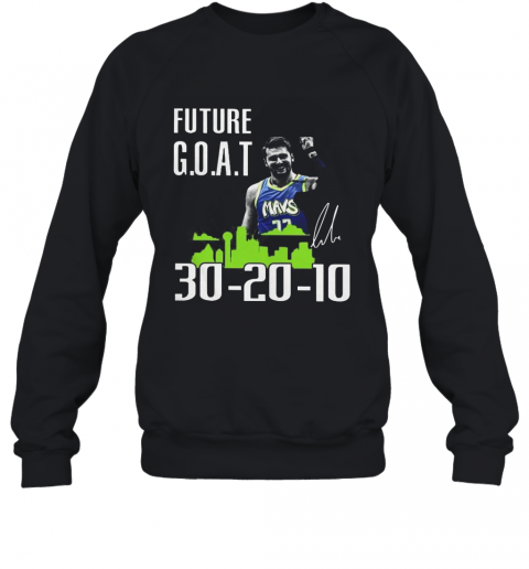 Future Goat Dallas Mavericks Basketball Signature T-Shirt Unisex Sweatshirt