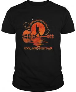 Halloween bigfoot on a dark desert highway cool wind in my hair moon  Unisex