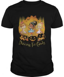 Halloween princess dancing for candy pumpkins  Unisex