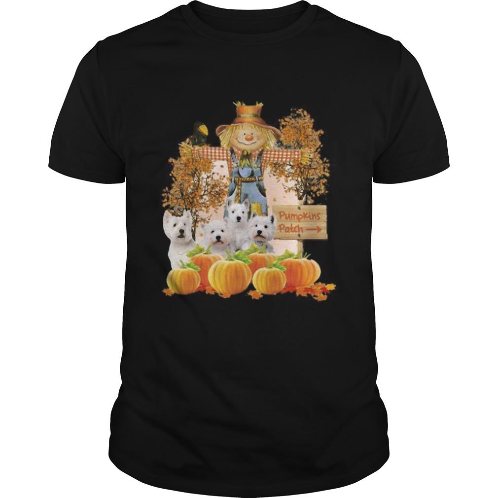 Halloween Yorkie Figurehead Pumpkins Patch Shirt Masswerks Store