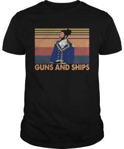 Hamilton Guns And Ships Vintage  Unisex