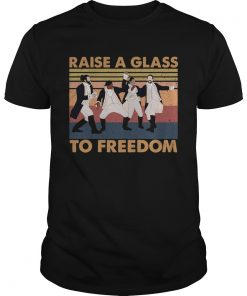 Hamilton Raise A Glass To Freedom Vintage  Unisex