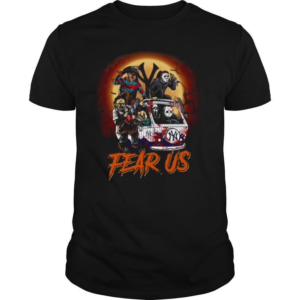 Horror Character Fear Us Halloween Shirt Masswerks Store
