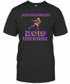 Joe Burrow 2019 Winner Lsu Tigers Football T-Shirt Classic Men's T-shirt