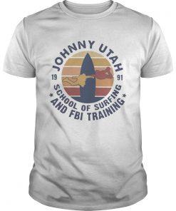Johnny Utah School Of Surfing And FBI Training Vintage  Unisex