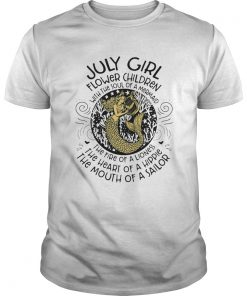 July Girl Flower Children With The Soul Of A Mermaid  Unisex