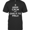 Juventus Keep Calm And Give It To Pirlo T-Shirt Classic Men's T-shirt