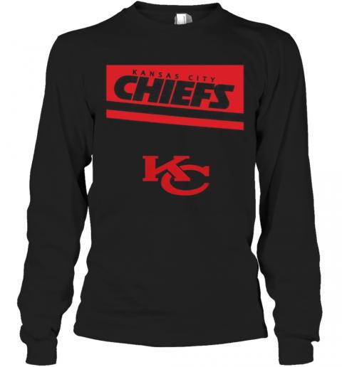 Kansas City Chiefs Football Logo T-Shirt Long Sleeved T-shirt