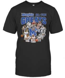 Memphis Tigers All Time Great Signatures T-Shirt Classic Men's T-shirt